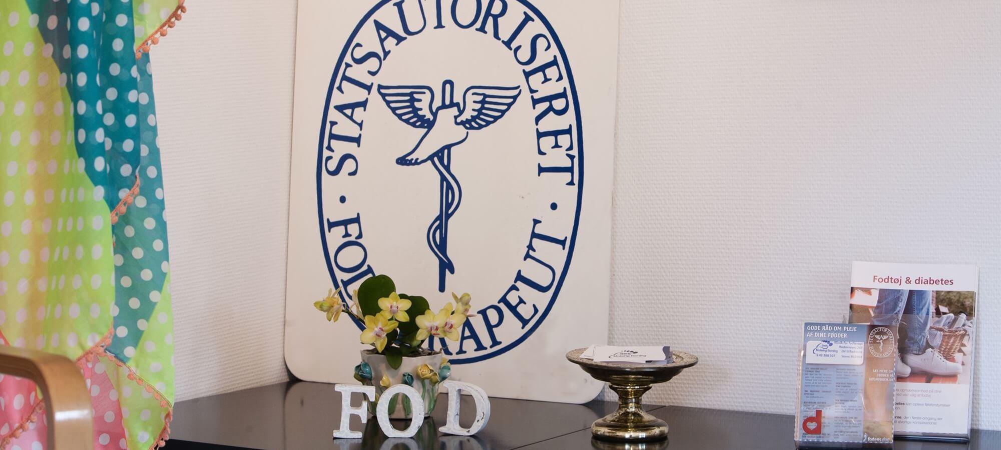 Statsautoriserede <span>Fodterapeuter</span>